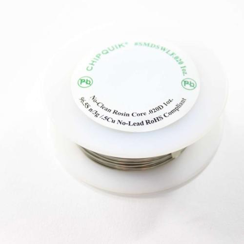 SMDSW.0201OZ Solder Wire 63/37 Tin/lead No-clean .020 1Oz.