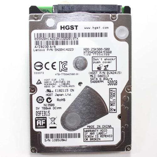 5H20H14223 500 Gb Sata 5400 Rpm Hard Drive