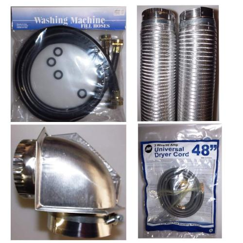 Appliance Install Supplies Replacement Parts