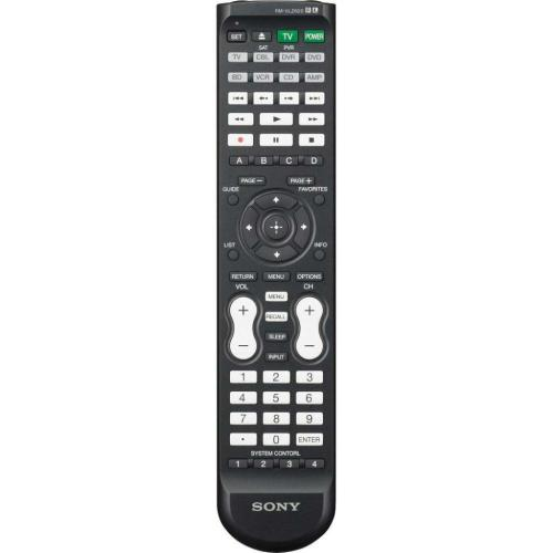 RMVLZ620 Sony Universal Replacement Rem