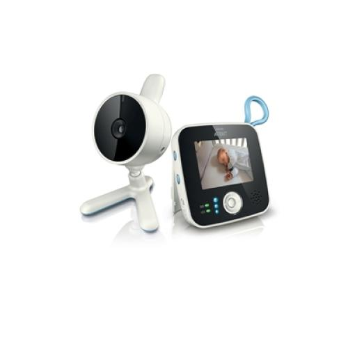 SCD610/97 Digital Video Baby Monitor Scd610 Compatible With 4 Camera's